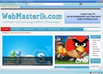 Alpha Web Browser ekran görüntüsü