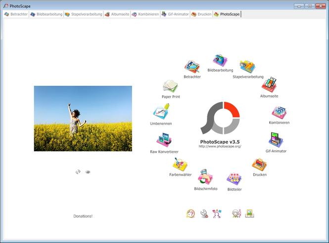 Скриншот в PhotoScape