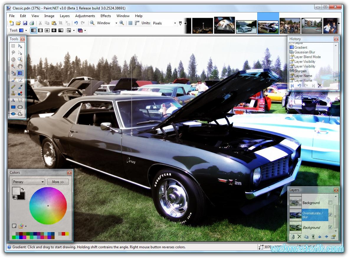 Скриншот в Paint.Net