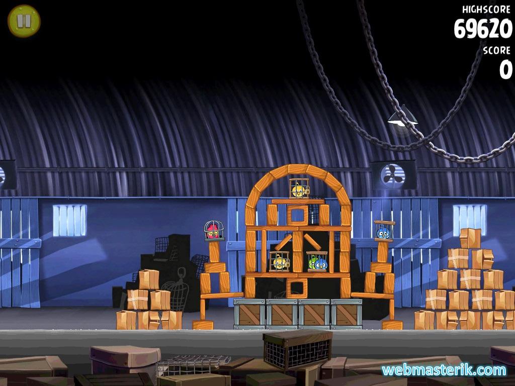 Angry Birds Rio ekran görüntüsü