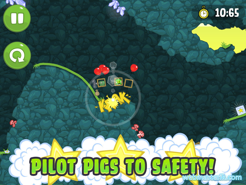 Скриншот в Bad Piggies