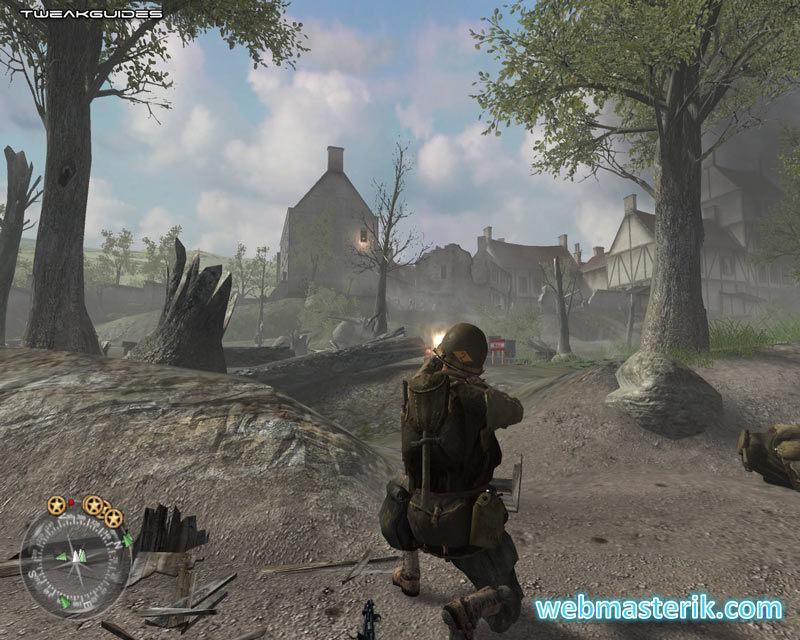 Скриншот в Call of Duty 2