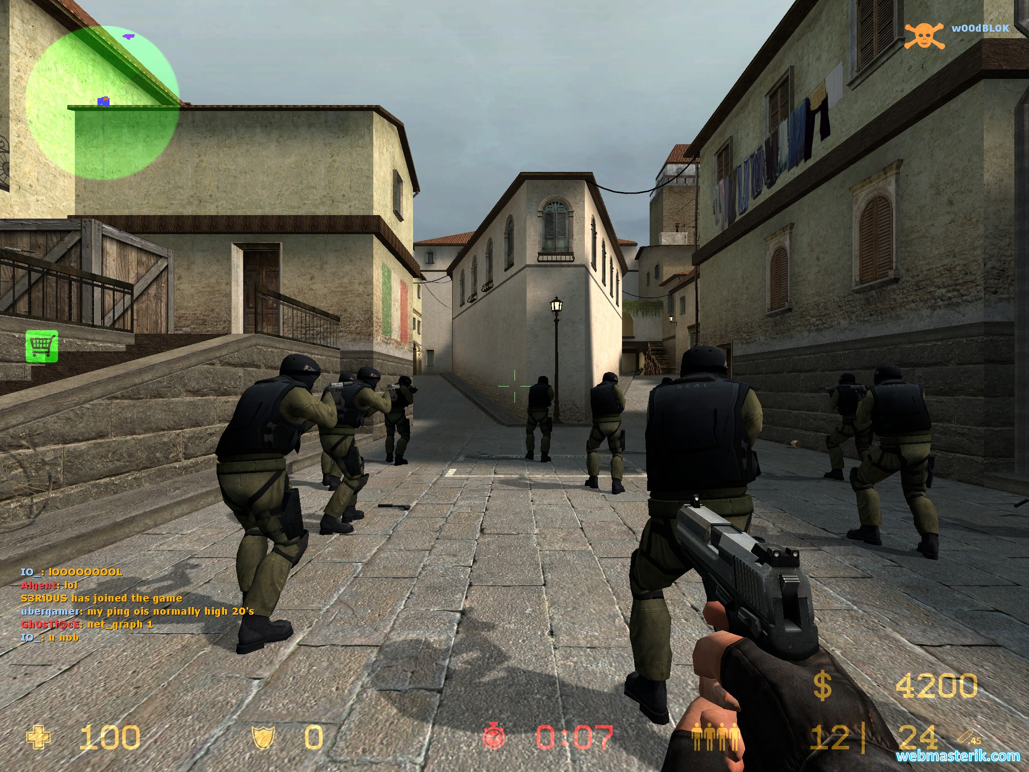 Скриншот в Counter Strike