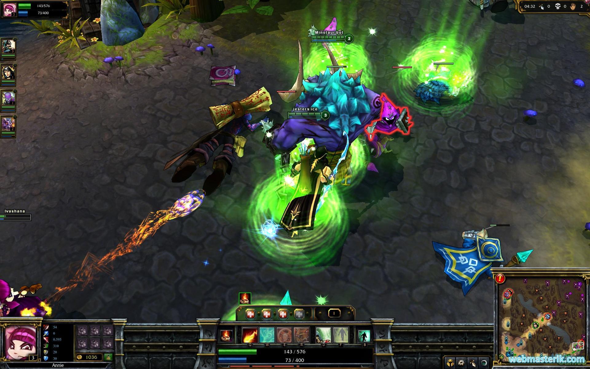 Скриншот в League of Legends