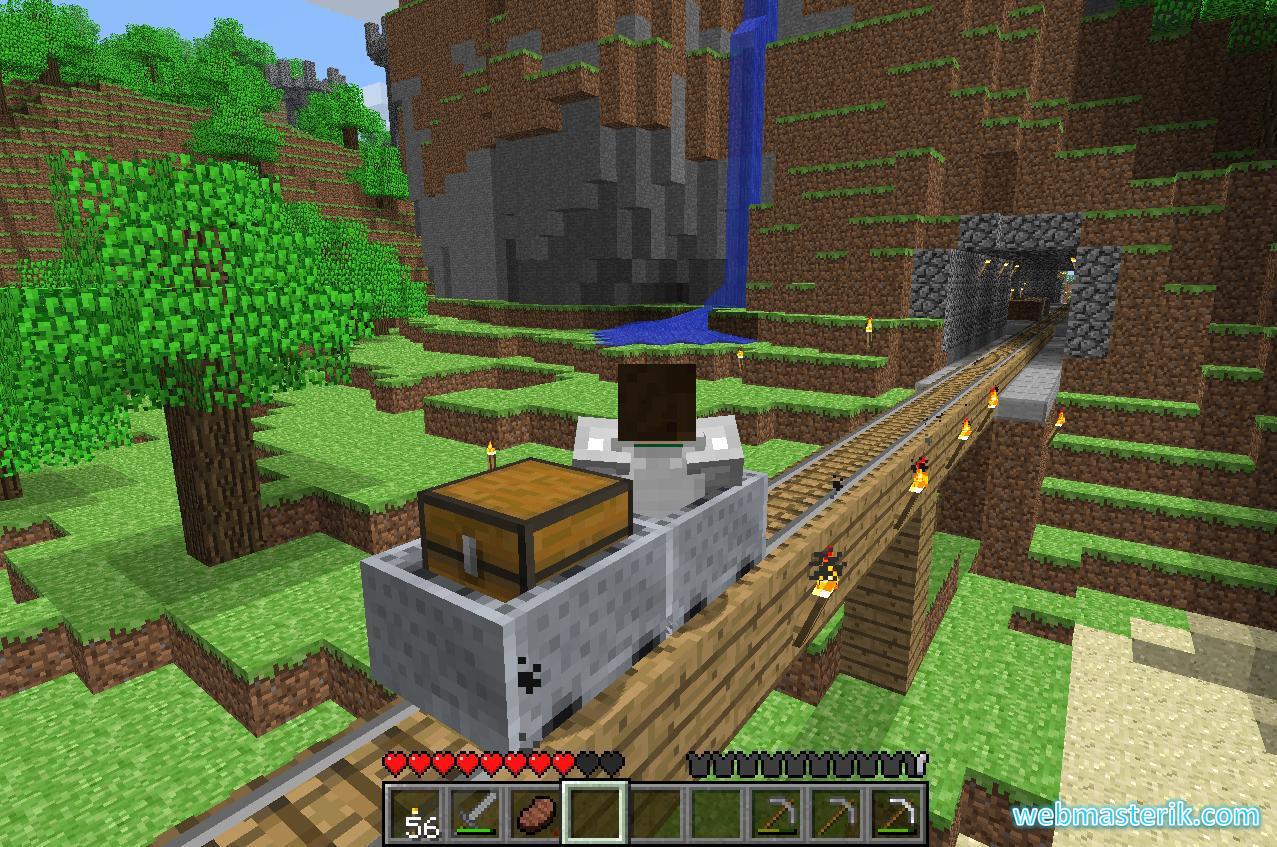 Скриншот в Minecraft