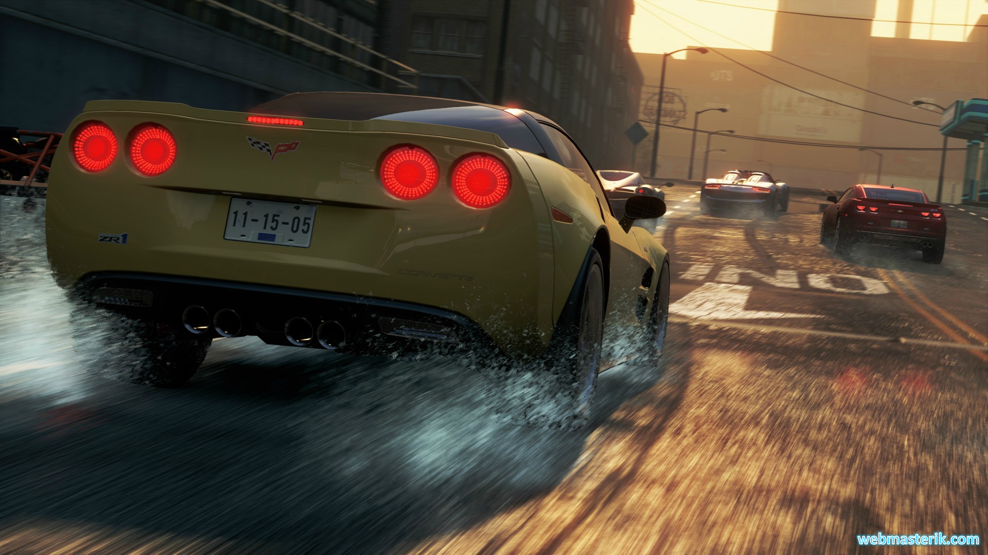 Скриншот в Need for Speed Most Wanted