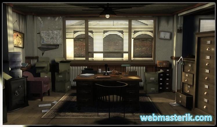 Скриншот в The Dame in Black Case