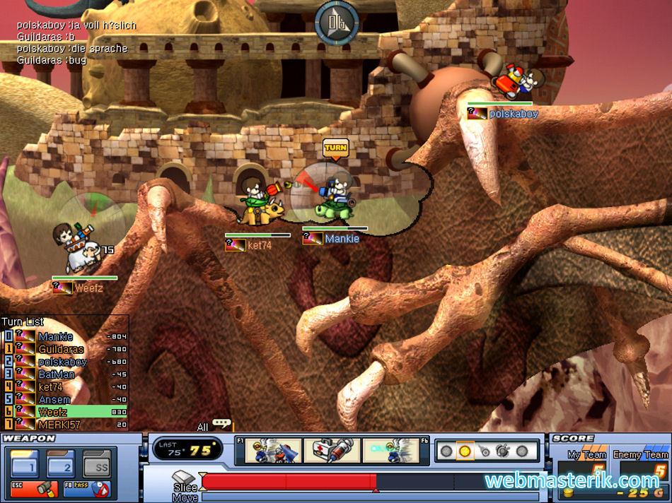 Gunbound ekran görüntüsü