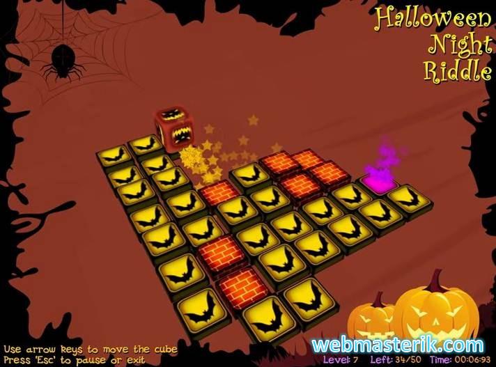 Скриншот в Halloween Night Riddle