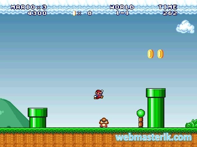 Скриншот в Mario Forever