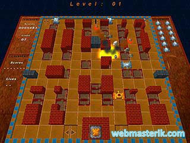 Скриншот в Battle City