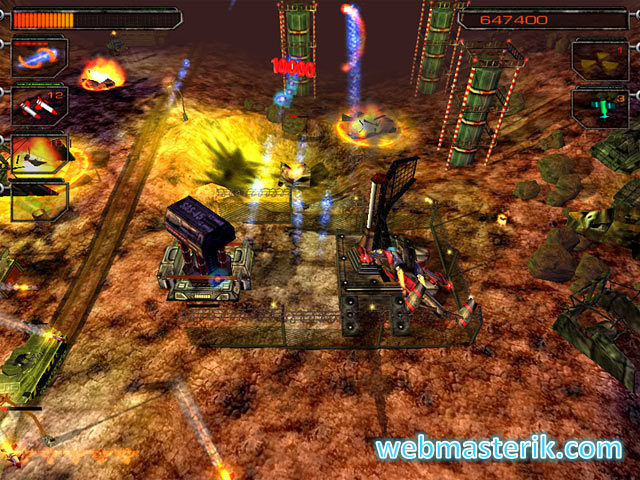 Desert Hawk ekran görüntüsü