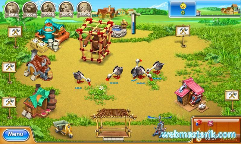 Farm Frenzy 3 ekran görüntüsü