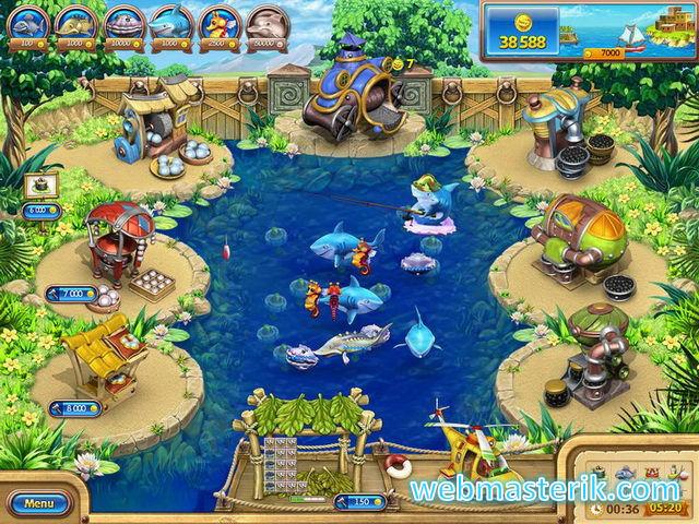 Farm Frenzy: Gone Fishing ekran görüntüsü