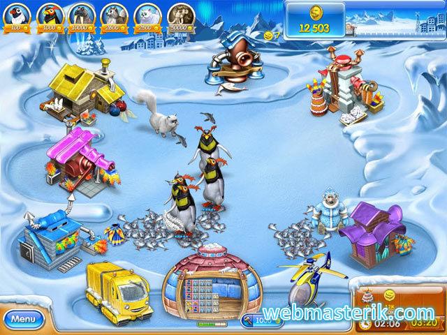 Farm Frenzy Buz Dövrü ekran görüntüsü