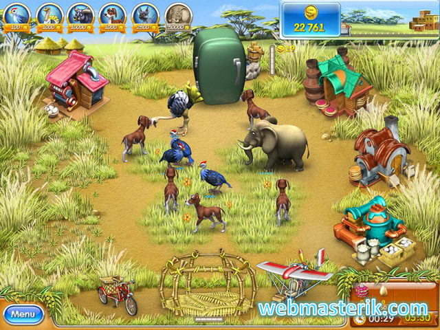 Farm Frenzy Madaqaskar ekran görüntüsü