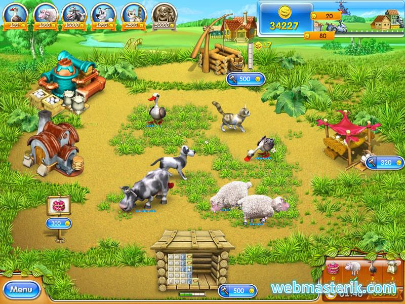 Скриншот в Farm Frenzy