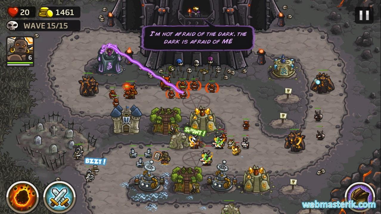 Kingdom Rush ekran görüntüsü