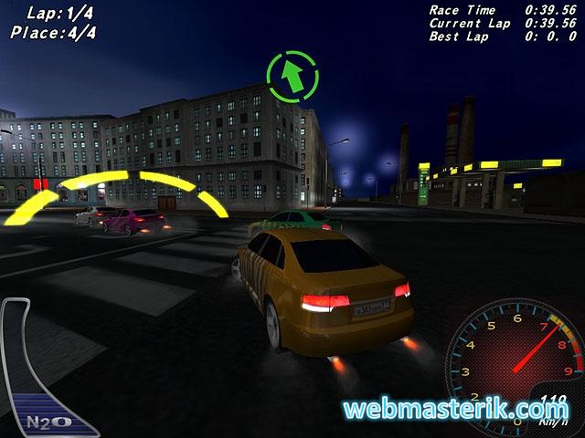 Скриншот в Night Street Racing