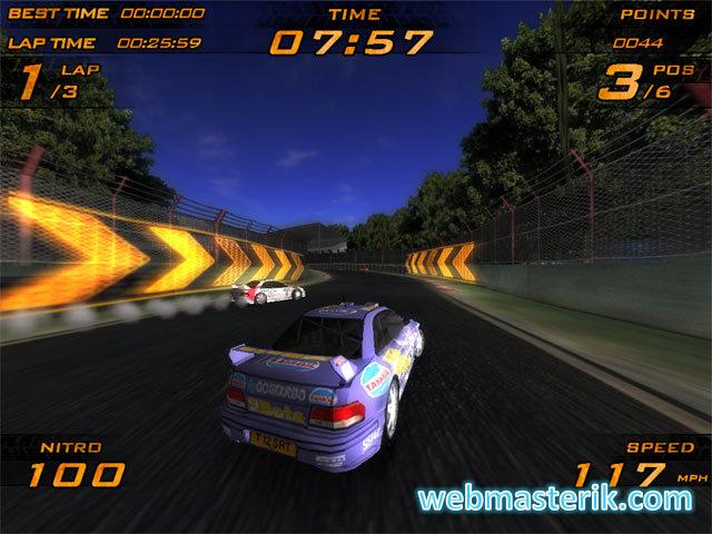 Nitro Racers ekran görüntüsü