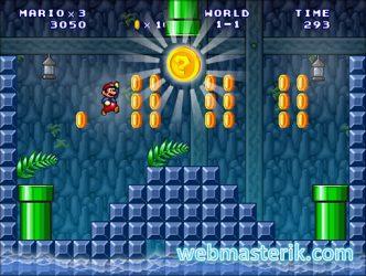 Super Mario 3: Mario Forever Advance ekran görüntüsü