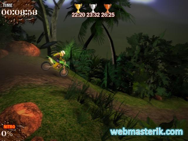 Скриншот в Super Motocross Deluxe
