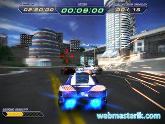 Super Police Racing ekran görüntüsü