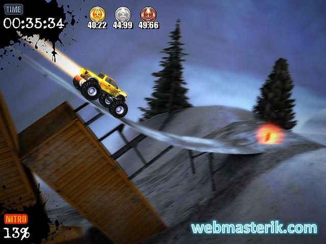 Скриншот в Ultra Monster Truck