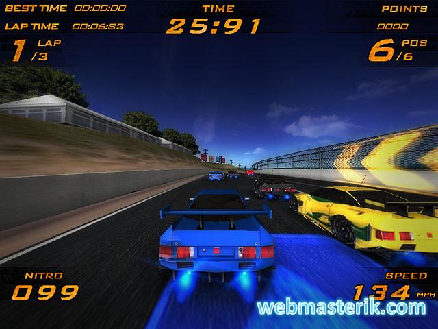 Ultra Nitro Racers ekran görüntüsü