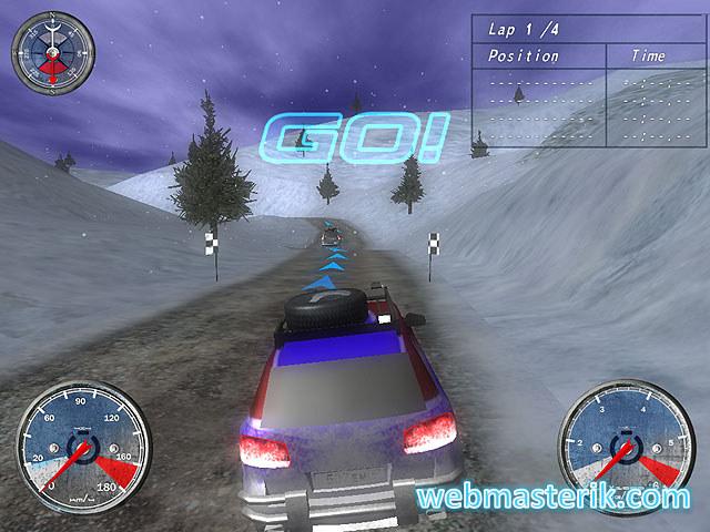 Winter Extreme Racers ekran görüntüsü