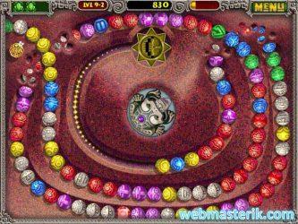 Zuma Deluxe ekran görüntüsü
