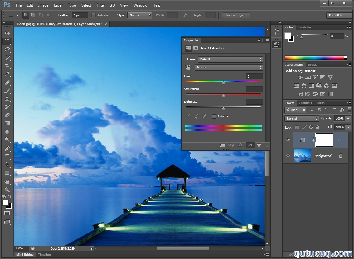 Скриншот в Adobe Photoshop CS6