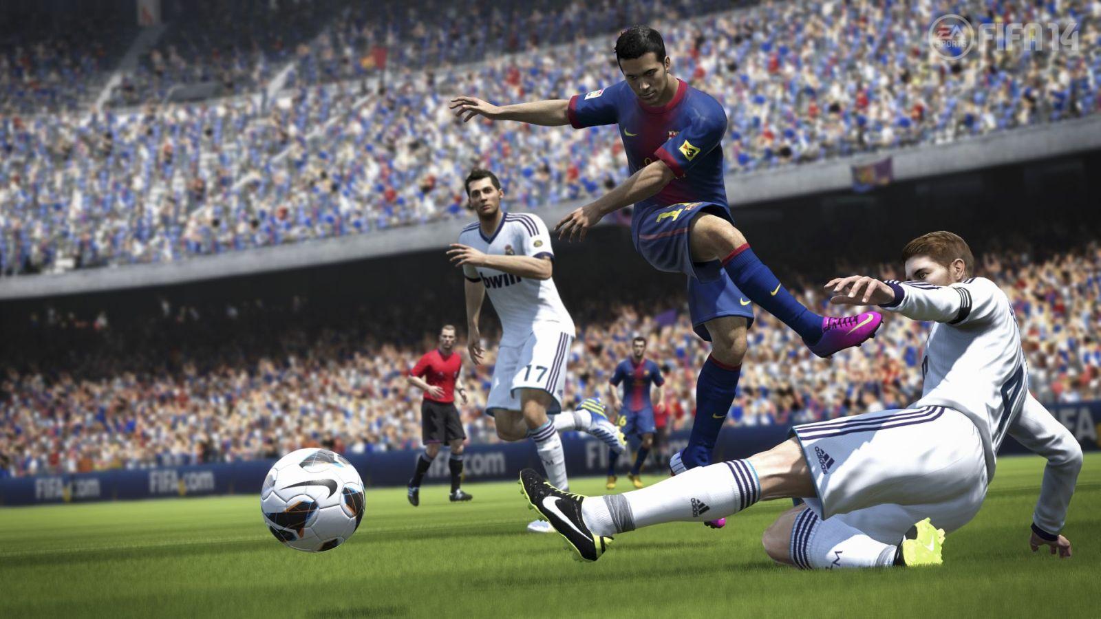 Скриншот в FIFA 14