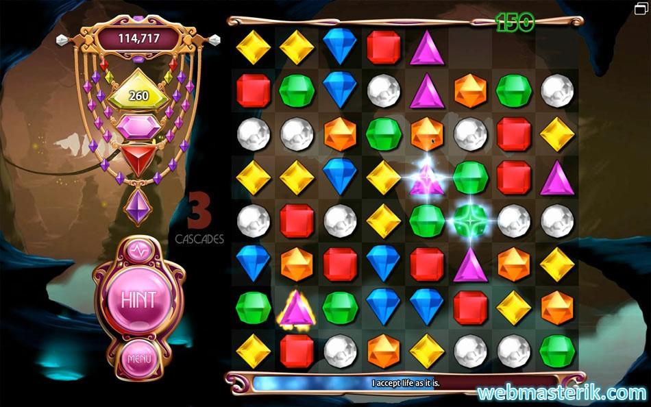 Скриншот в Bejeweled 3
