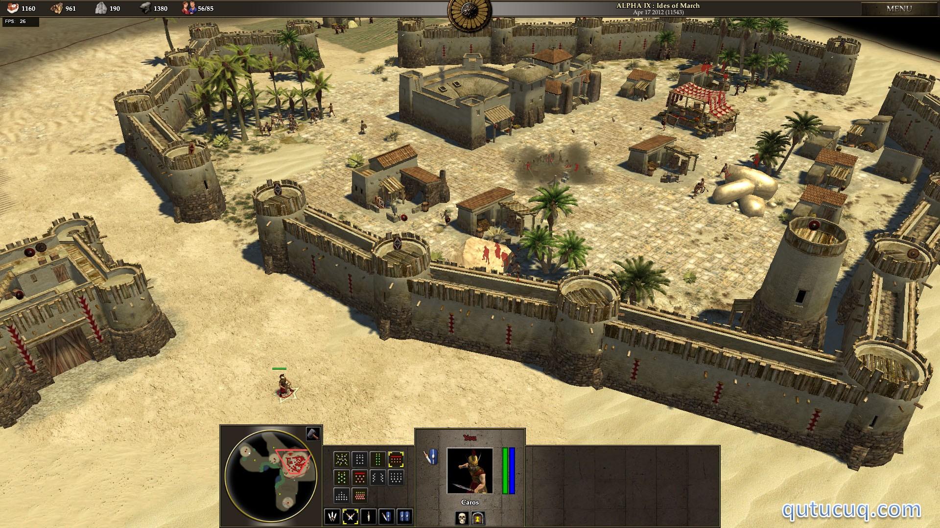 0 A.D. Alpha ekran görüntüsü