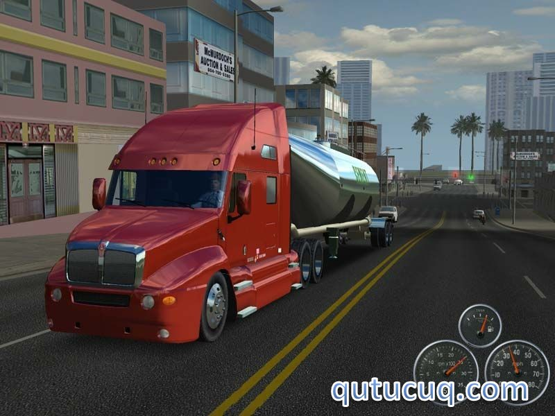 18 Wheels of Steel: Across America ekran görüntüsü