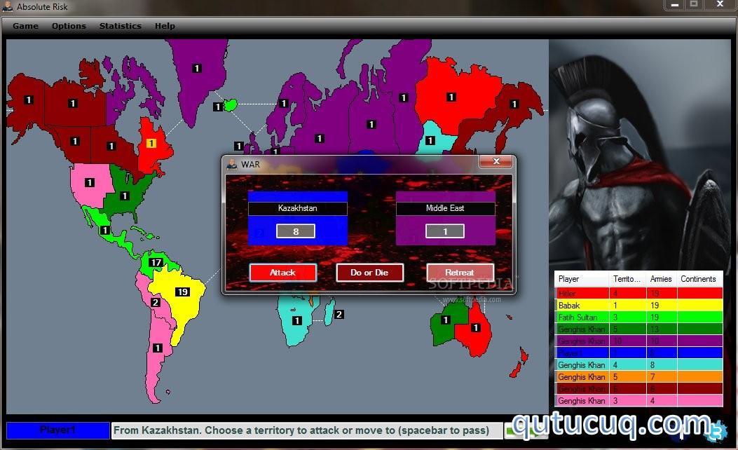 Absolute Risk ekran görüntüsü