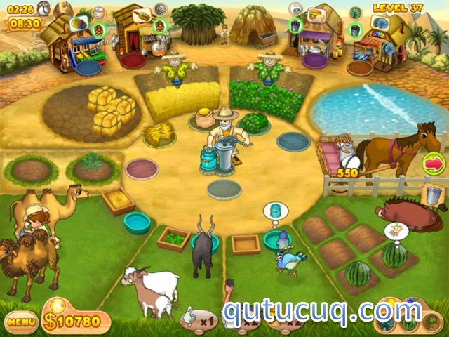 Скриншот в Farm Mania