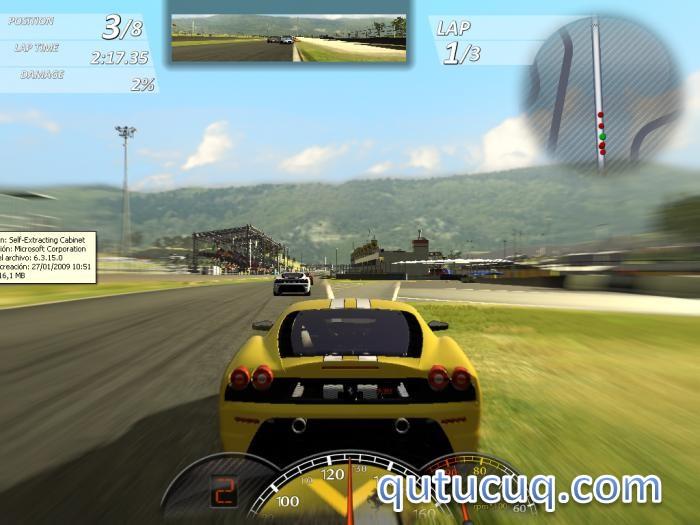 Ferrari Virtual Race ekran görüntüsü