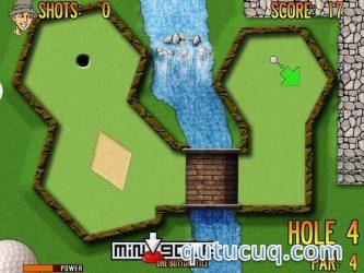 MiniGolf 1shot ekran görüntüsü
