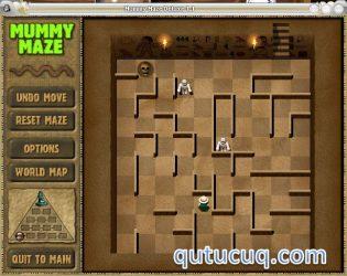 Mummy Maze Deluxe ekran görüntüsü