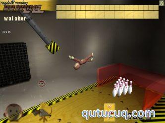 Ragdoll Monkey Bowling ekran görüntüsü