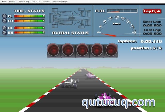 Rally Formula ekran görüntüsü
