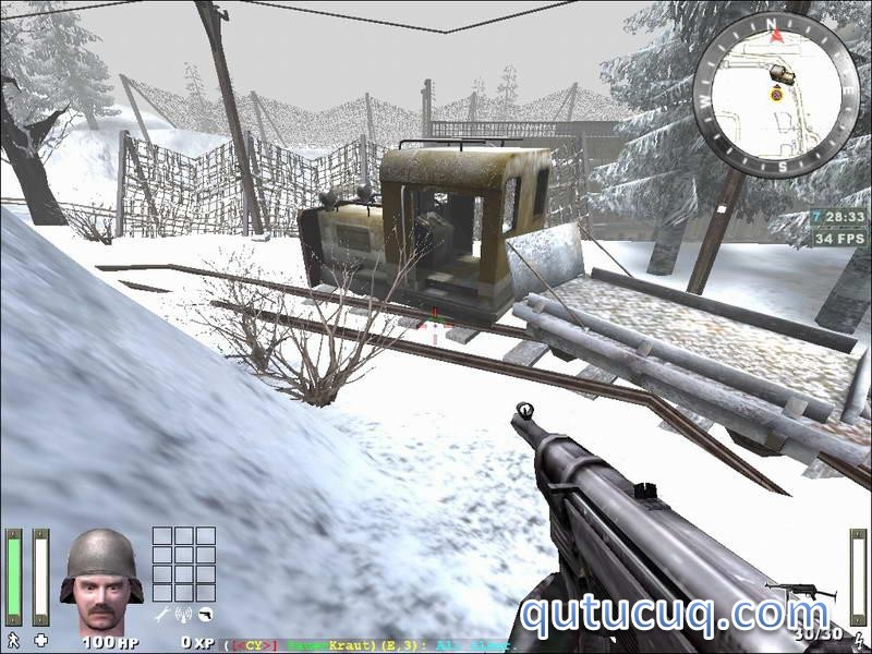 Return To Castle Wolfenstein: Enemy Territory ekran görüntüsü