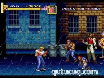 Streets of Rage ekran görüntüsü