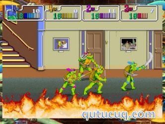 Teenage Mutant Ninja Turtles ekran görüntüsü