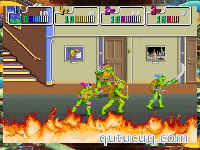 TMNT Teenage Mutant Ninja Turtles ekran görüntüsü