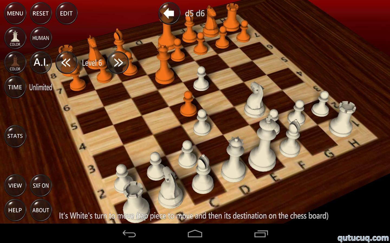 3D Şahmat Oyunu ekran görüntüsü