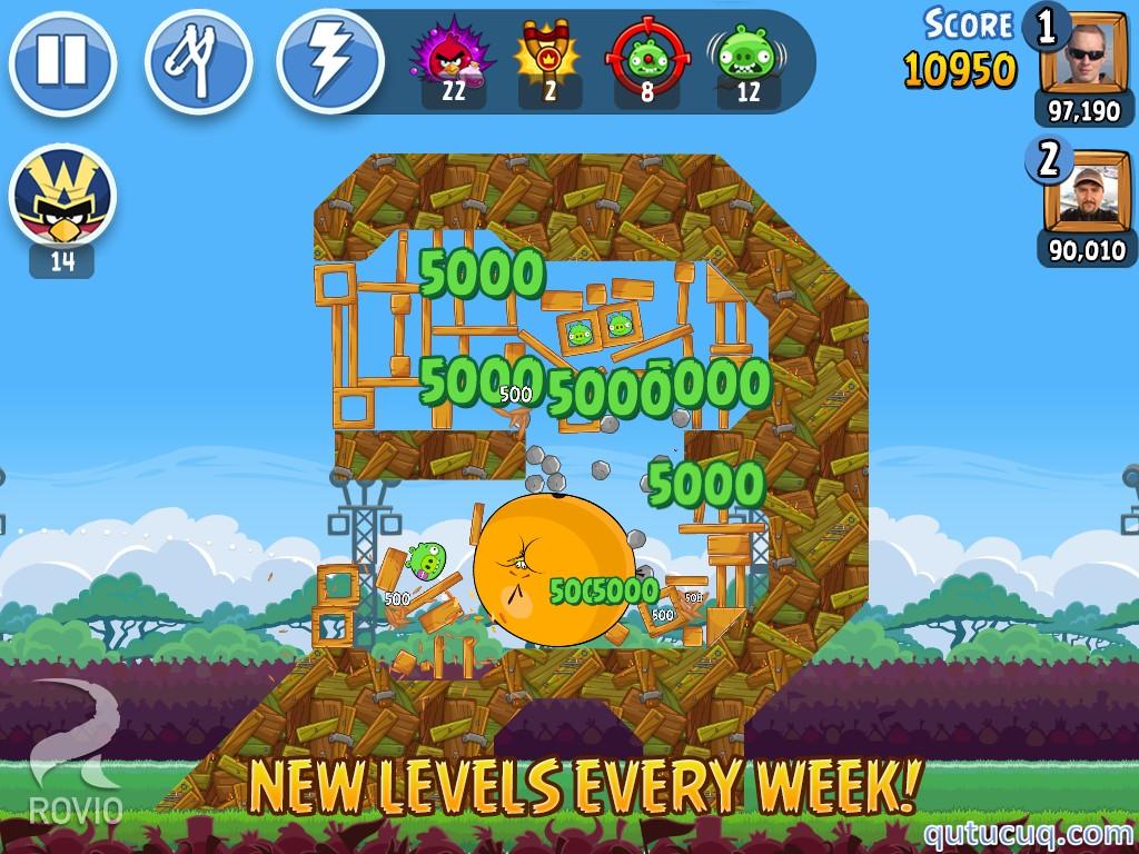 Angry Birds Friends Yüklə ekran görüntüsü