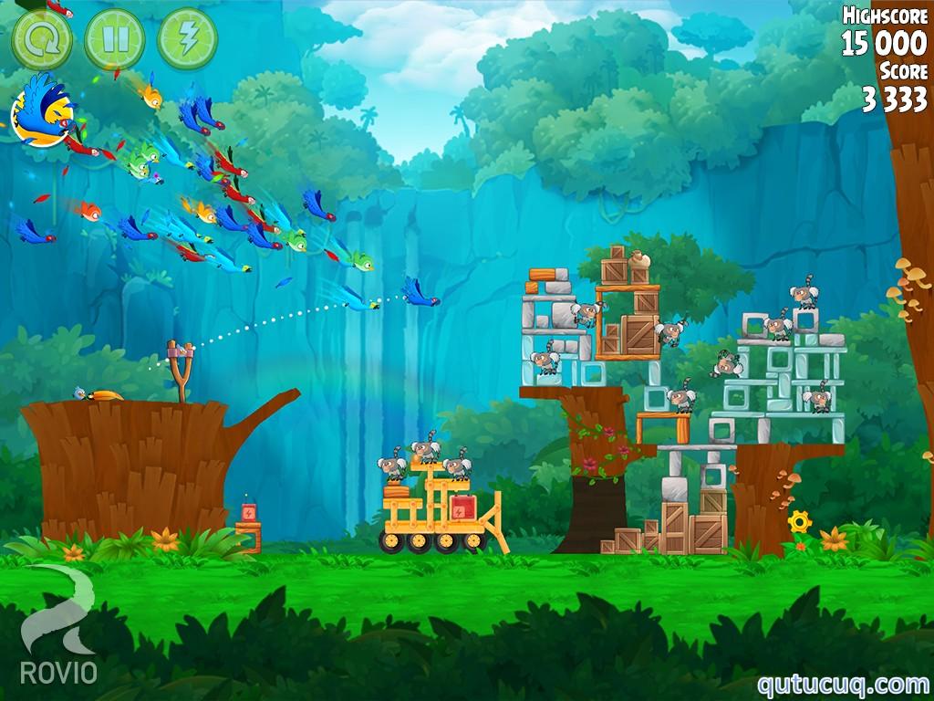 Angry Birds Rio Yüklə ekran görüntüsü